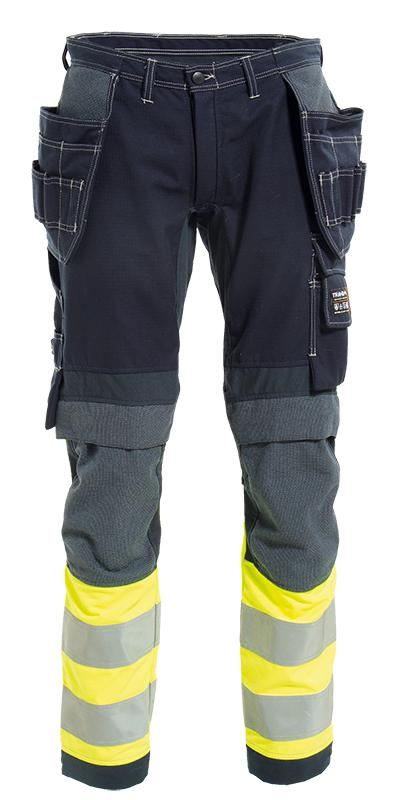 VLAMVERTRAGENDE WERKBROEK MET STRETCH